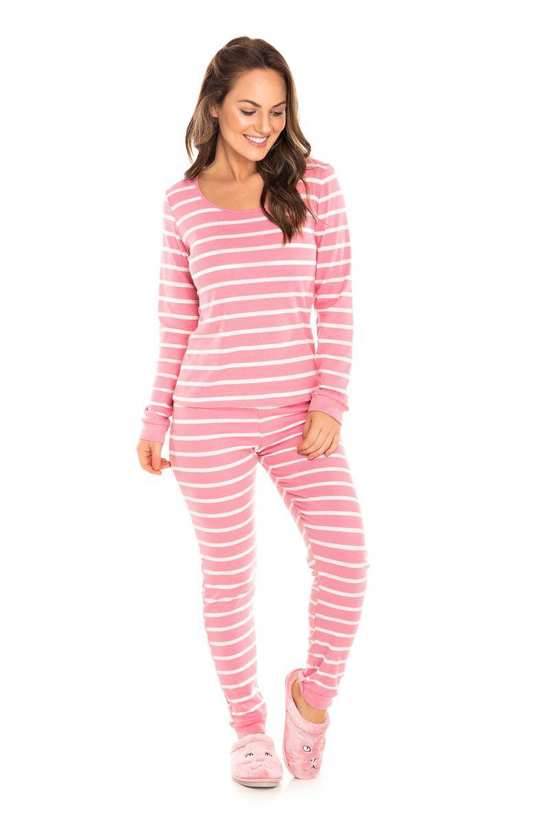 Pijama Adulto Feminino  Rosa