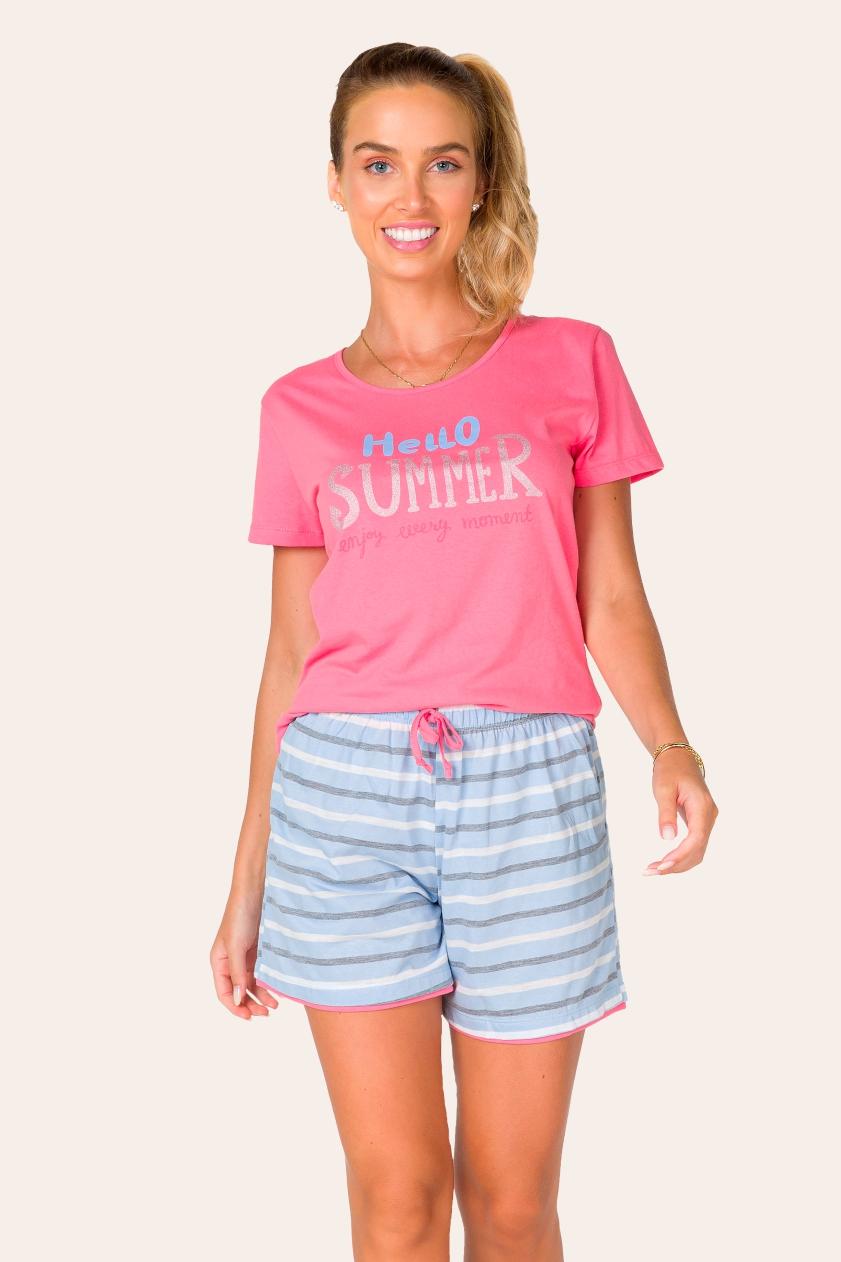 037/A - Pijama Adulto Feminino Summer