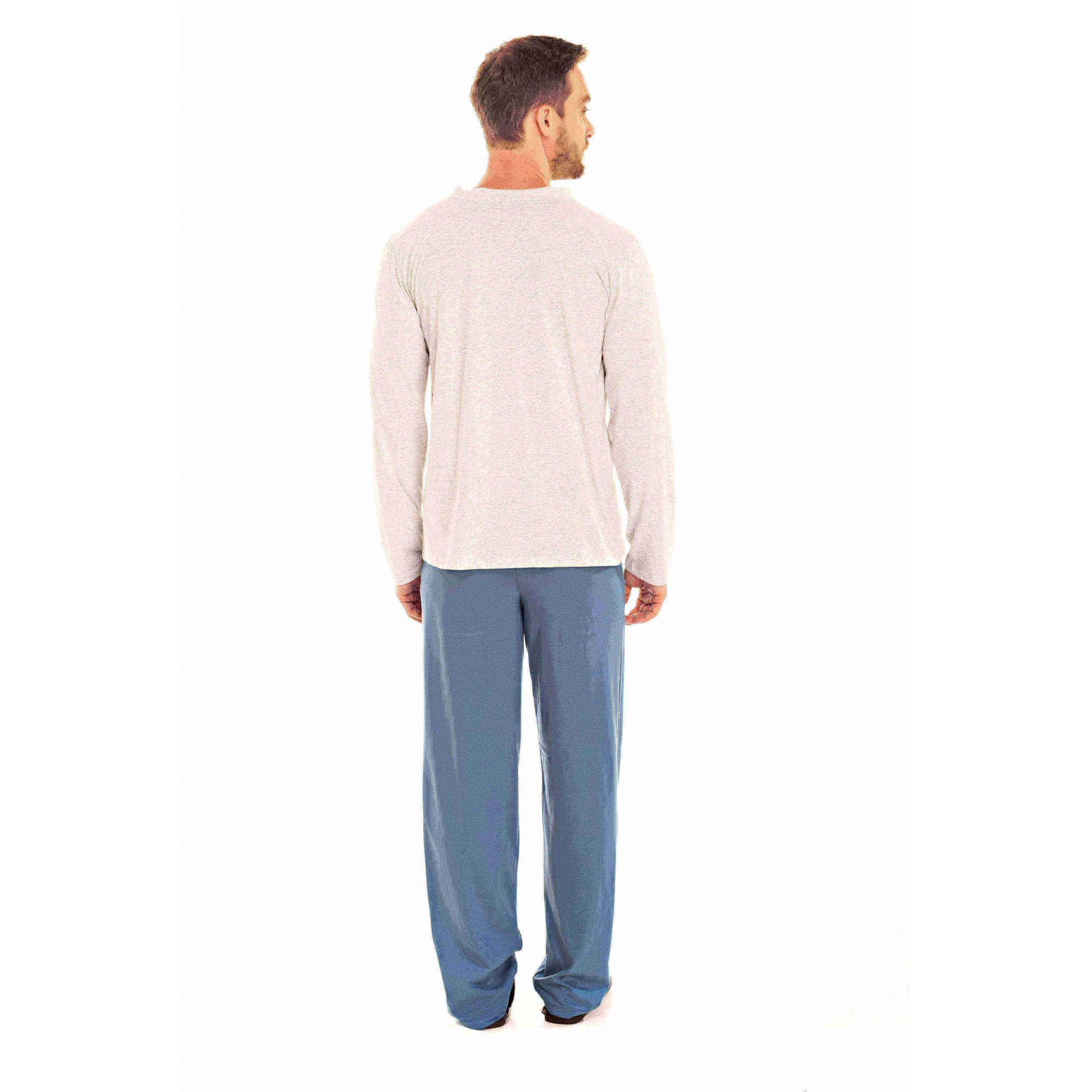 087/C - Pijama Adulto Masculino Aberto