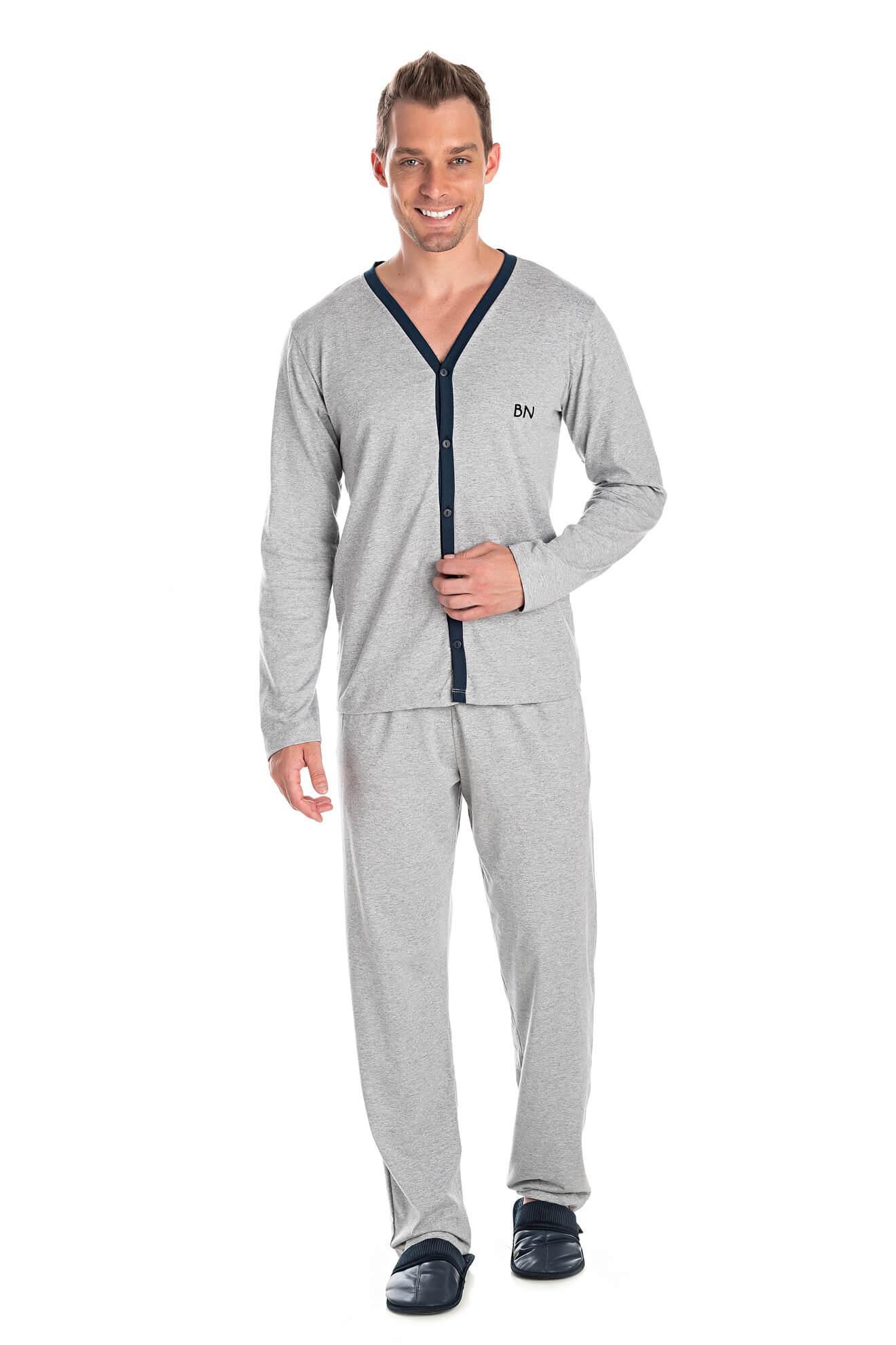 005/B - Pijama Adulto Masculino Aberto