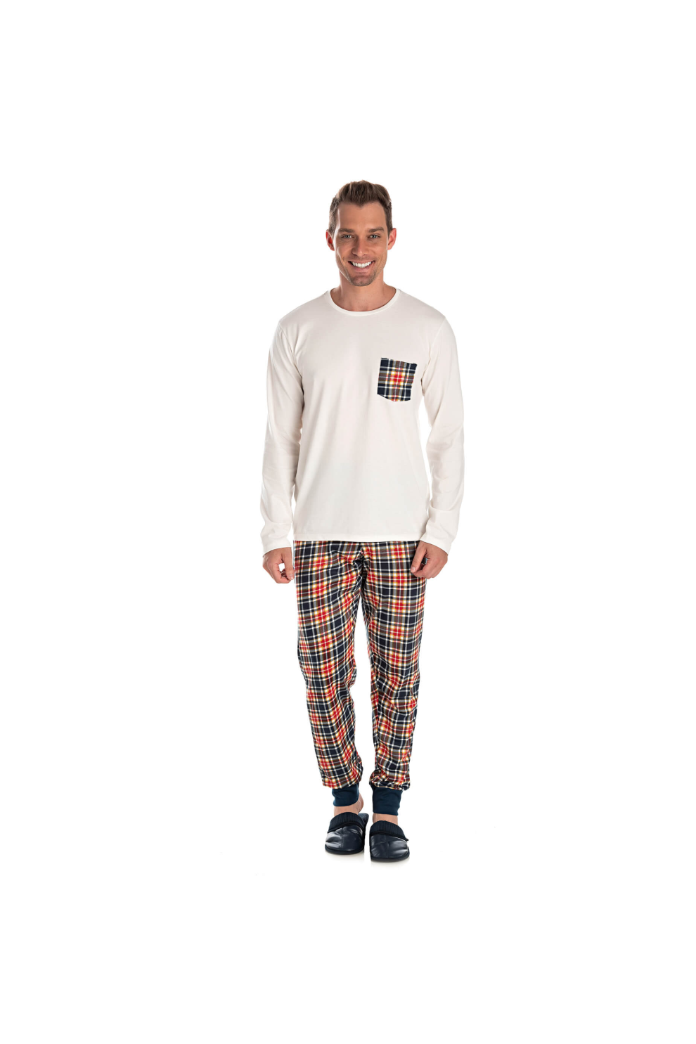 Pijama Adulto Masculino Happy Family