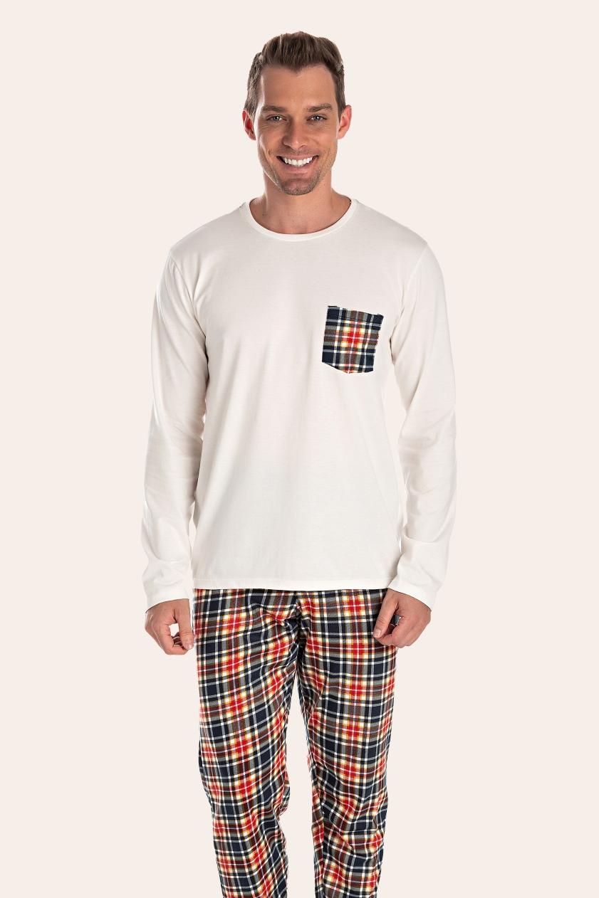 001/D - Pijama Adulto Masculino Happy Family