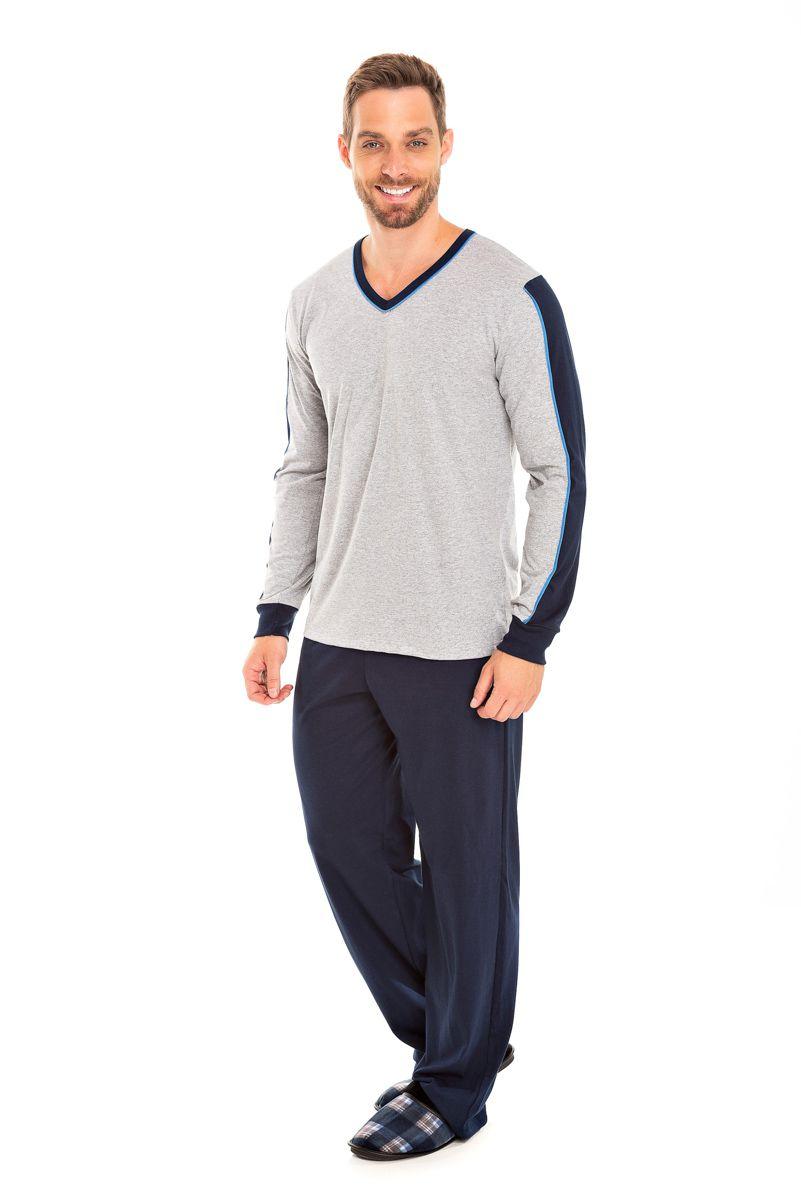 Pijama Adulto Masculino Mescla