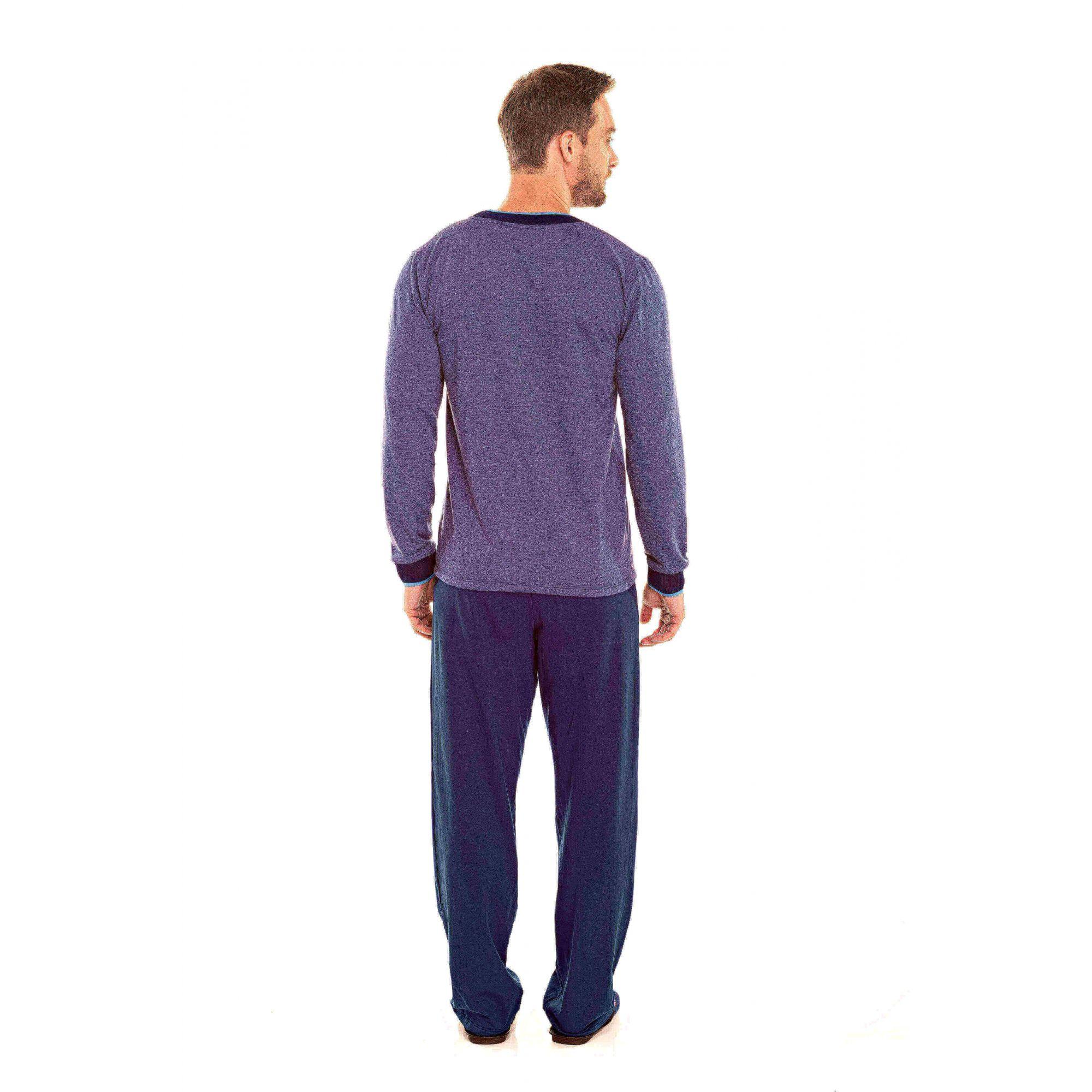 Pijama Adulto Masculino Moletinho