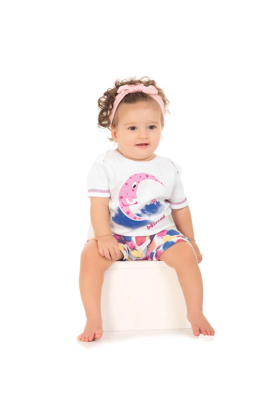 Pijama Bebê Feminino Belita