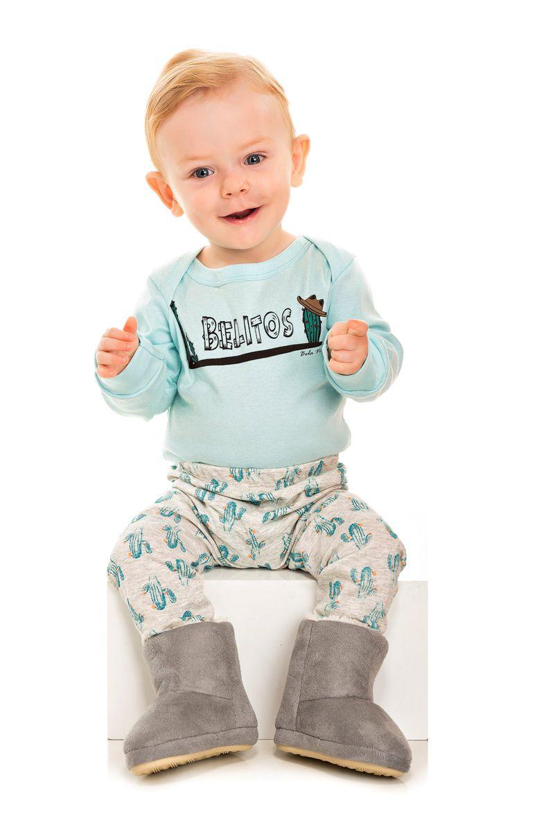 098/E - Pijama Bebê Masculino Belitos