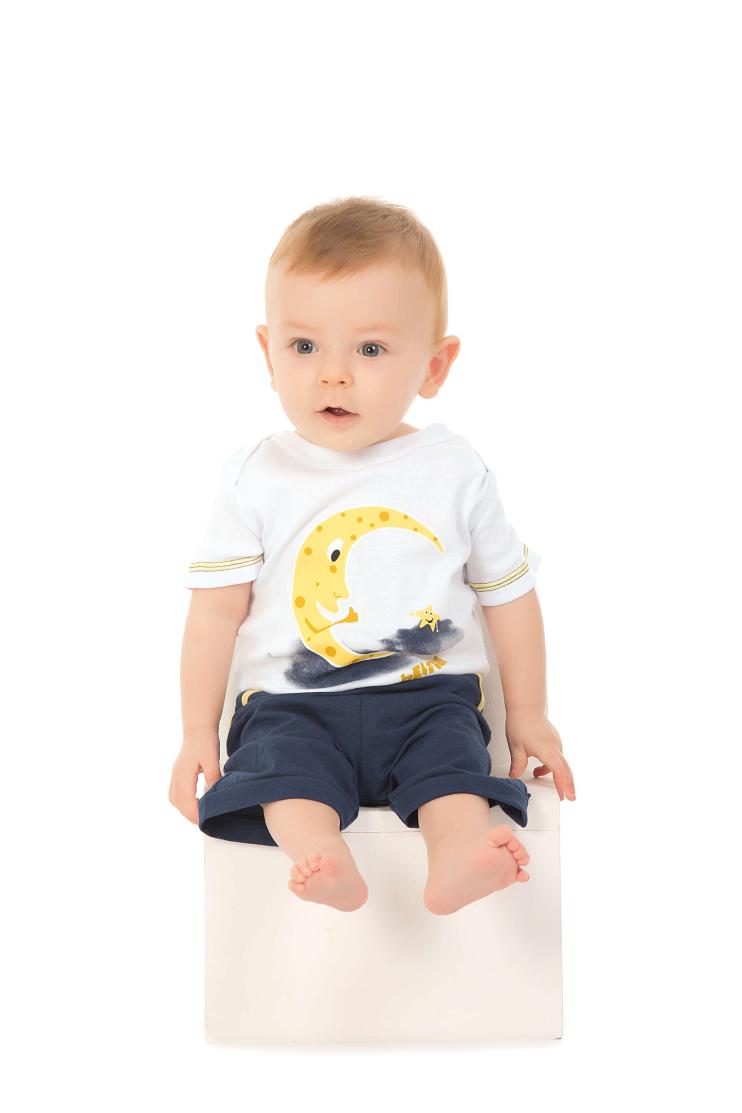 225/D - Pijama Body Masculino Bebê