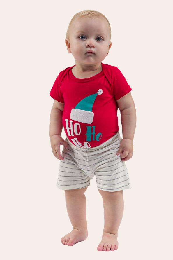 180/G - Pijama De Natal Para Família - Bebê Unissex