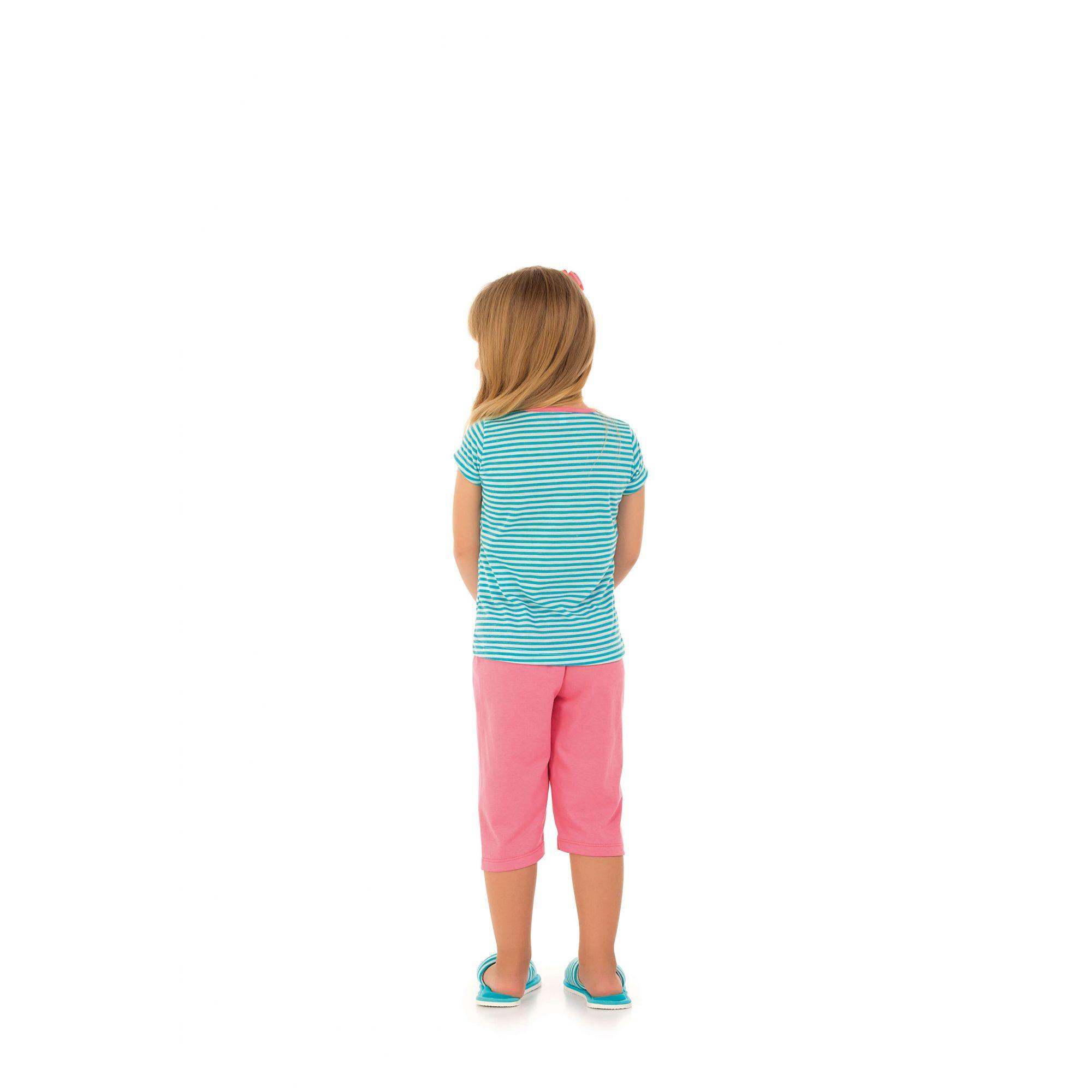 Pijama Infantil Capri Listrado