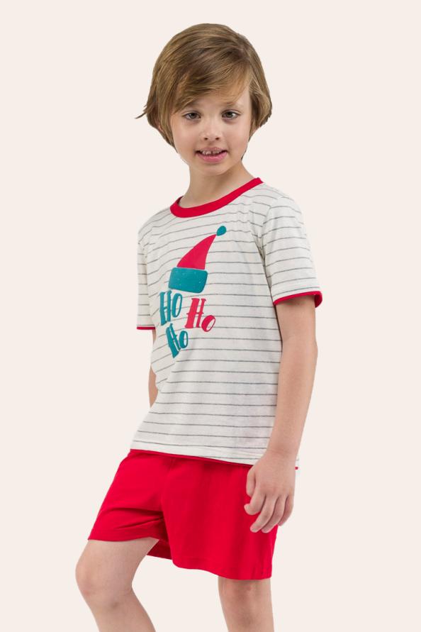 001/F - Pijama De Natal Para Família - Infantil Masculino
