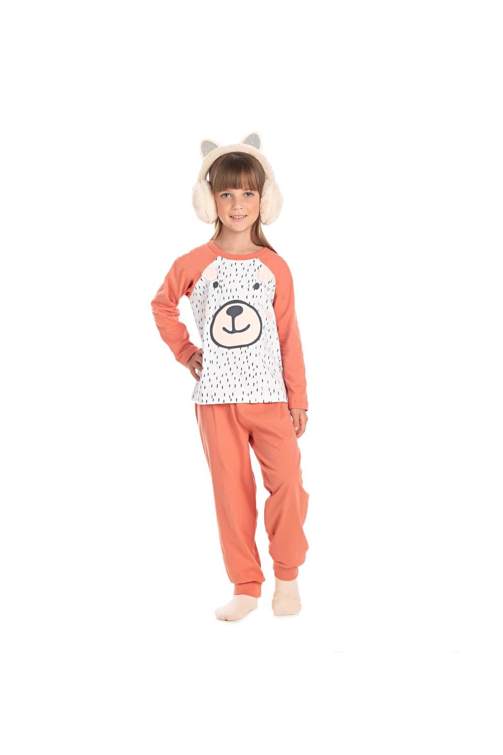 041/C - Pijama Infantil Feminino Bear Child