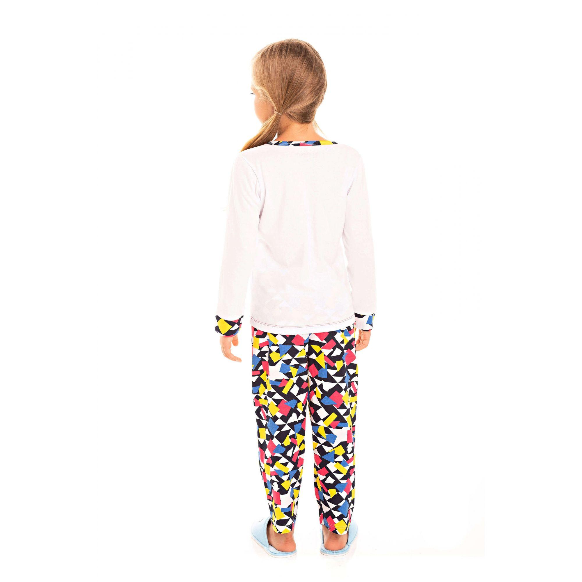 Pijama Infantil Feminino Belita Colorido