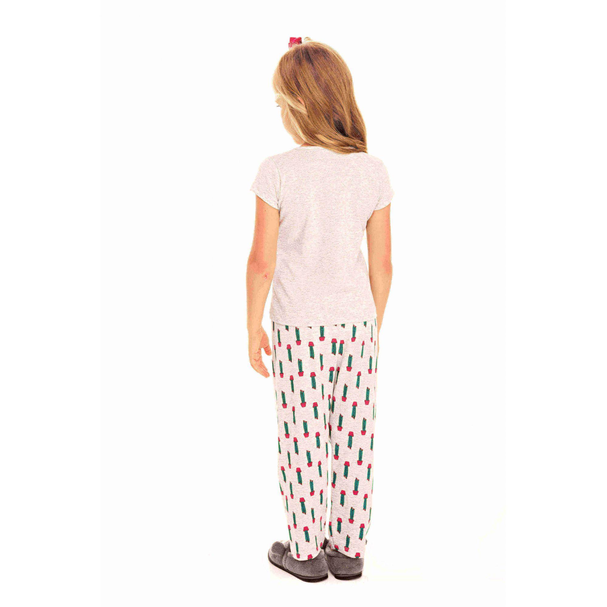 091/C - Pijama Infantil Feminino Cactos