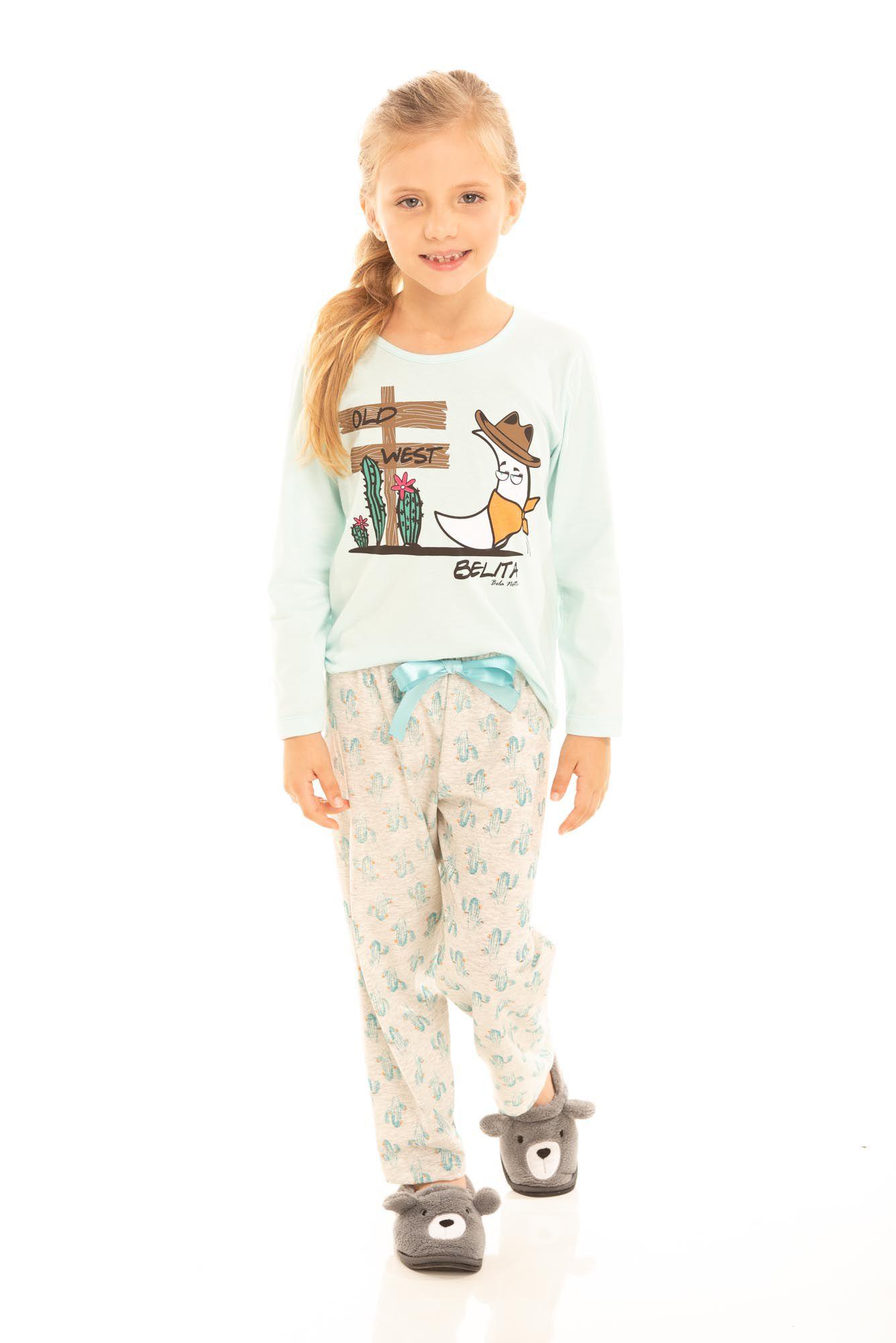Pijama Infantil Feminino Belita Old West