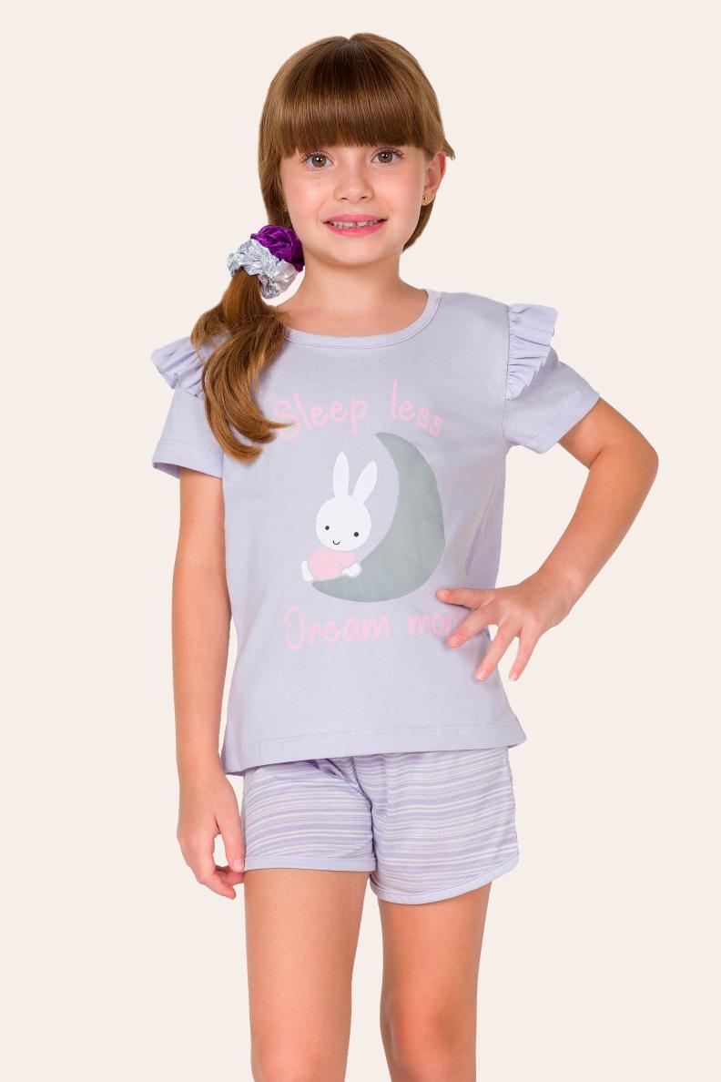 009/F - Pijama Infantil Feminino Dream More