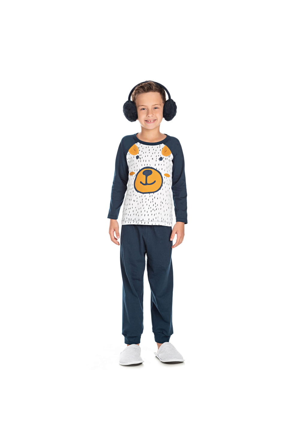 041/F - Pijama Infantil Masculino Bear Child