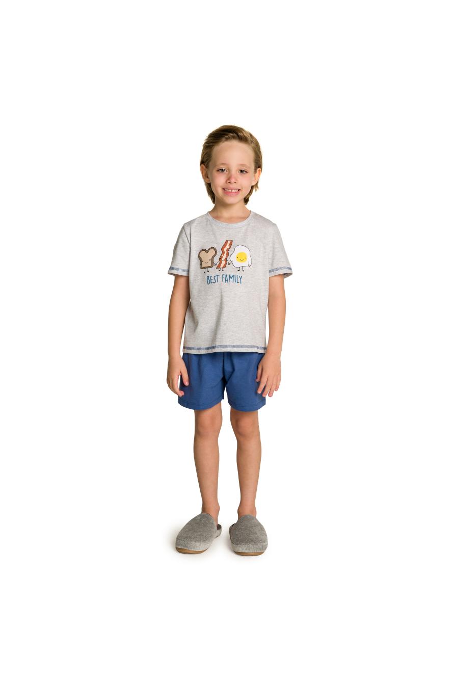 001/O - Pijama Infantil Masculino Best Family
