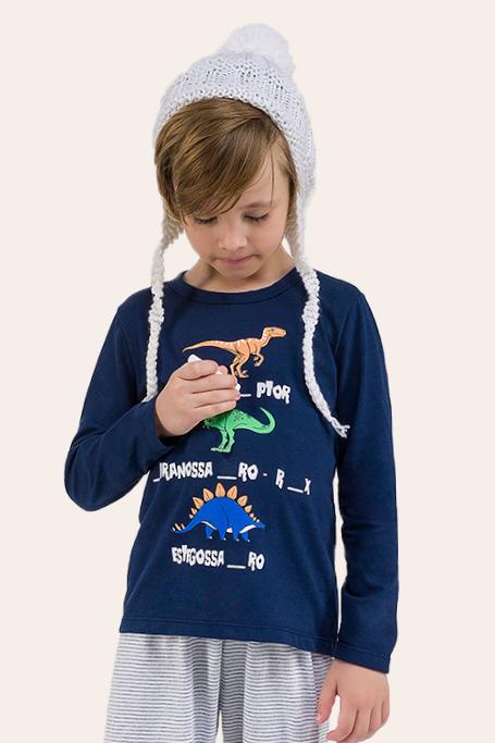 011/B - Pijama Infantil Masculino Complete