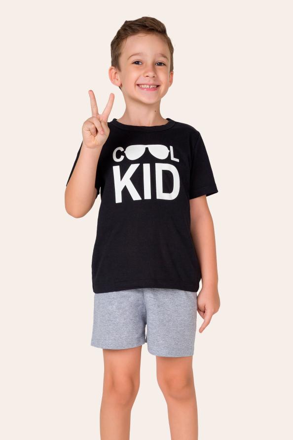 009/C- Pijama Infantil Masculino Cool Kid