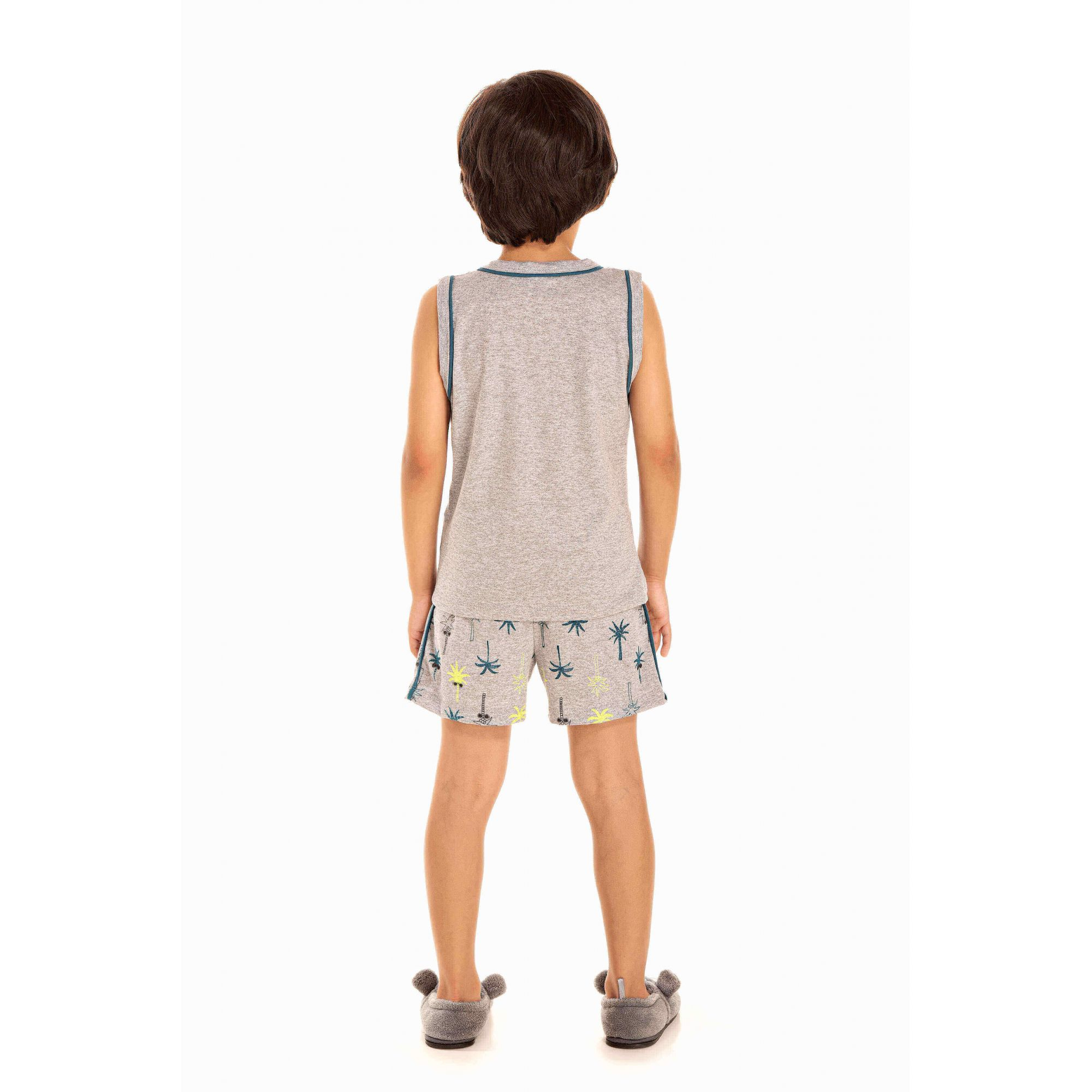 Pijama Infantil Masculino Coqueiro Surf