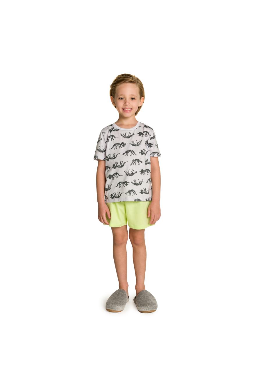 Pijama Infantil Masculino Dino Curto