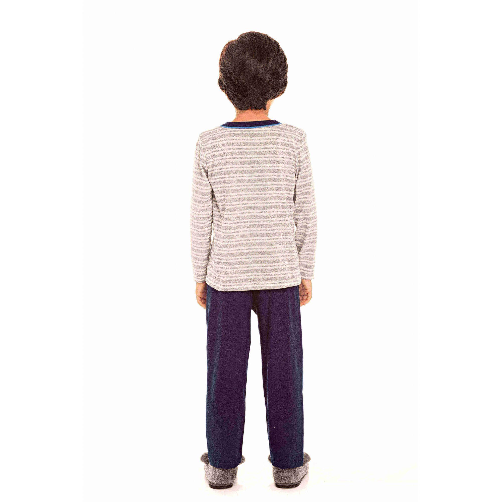 Pijama Infantil Masculino Marinho Tal Pai, Tal Filho