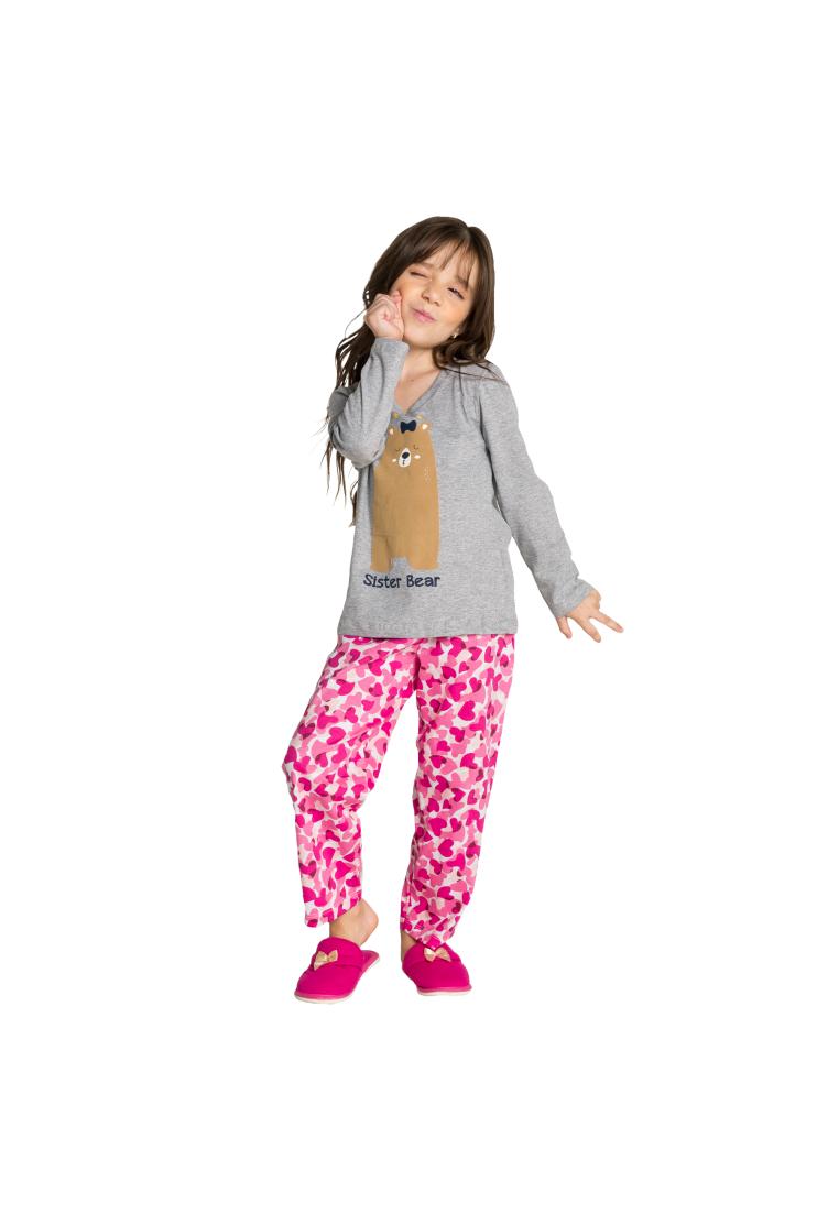 020/A - Pijama Infantil Sister Bear