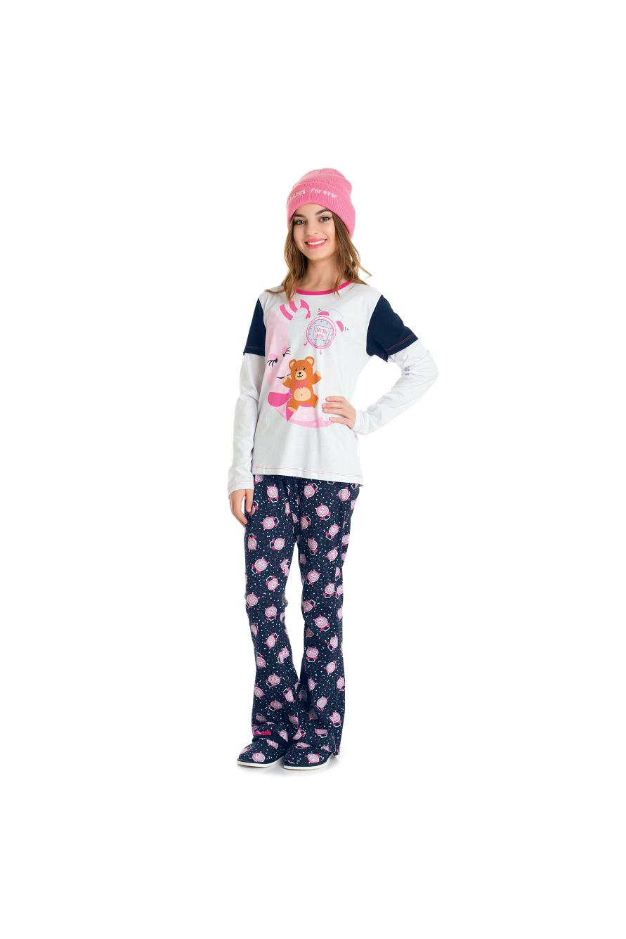 Pijama Juvenil Feminino Belita