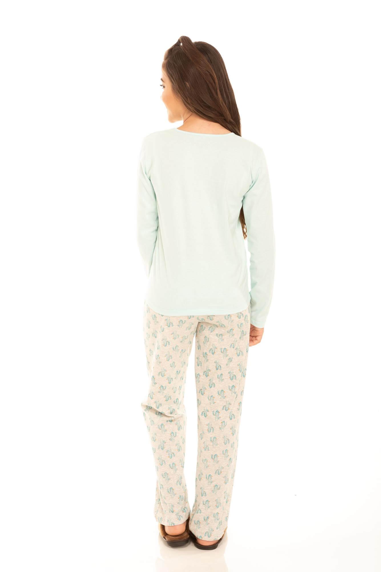 098/B - Pijama Juvenil Feminino Belita Old West
