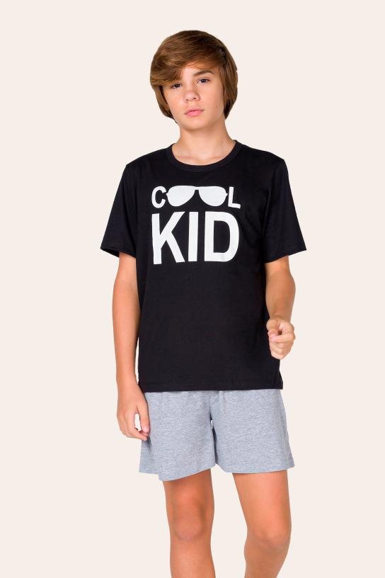 Pijama Juvenil Masculino Cool Kid