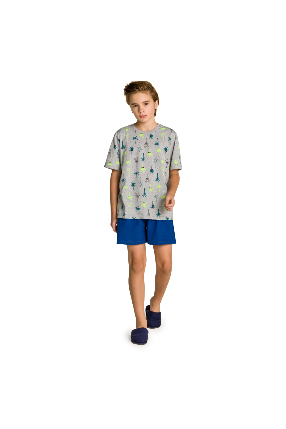 Pijama Juvenil Masculino Coqueiro