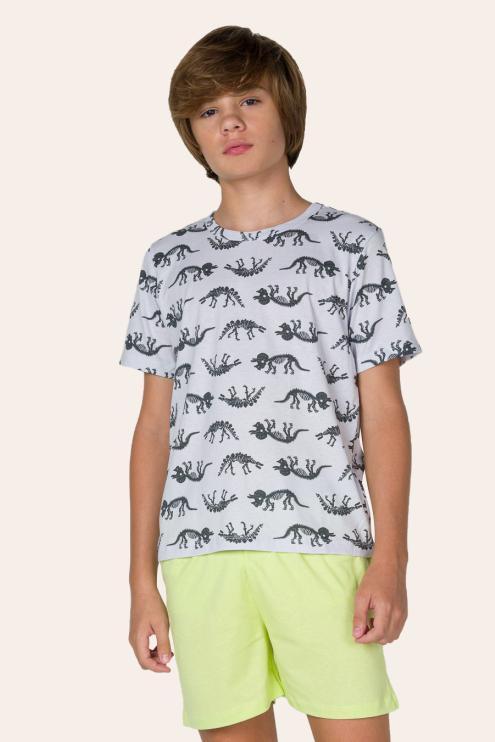 220/A - Pijama Juvenil Masculino Divertidos