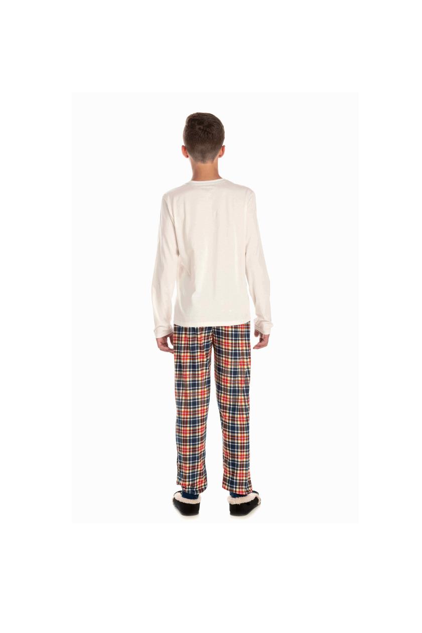 023/E - Pijama Juvenil Masculino Happy Family
