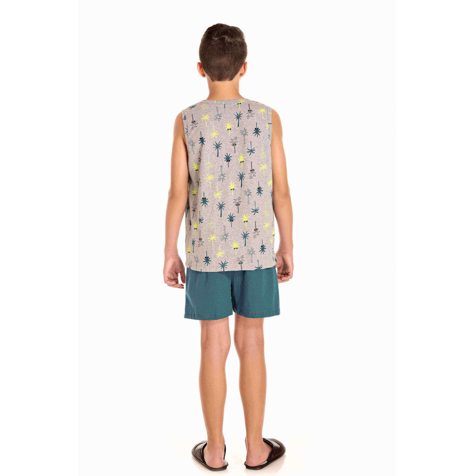 Pijama Juvenil Masculino Surf