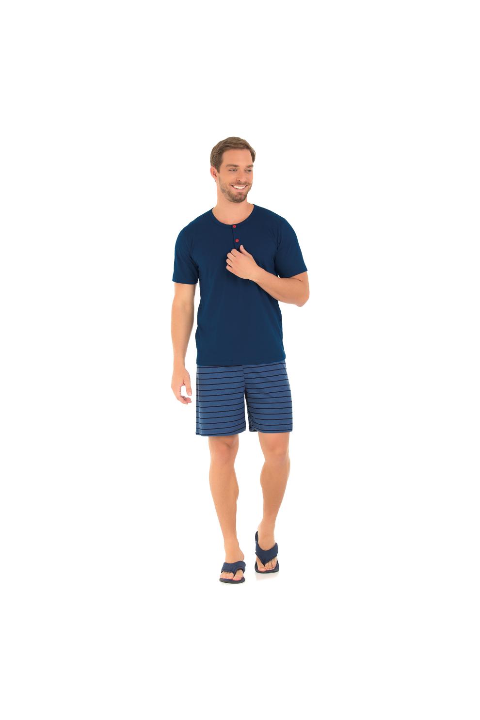 Pijama Masculino Náutico