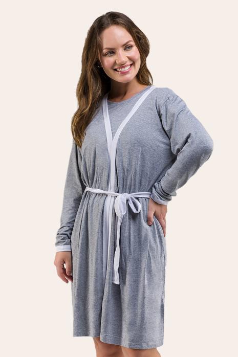 004/B - Robe Maternidade Viscolycra