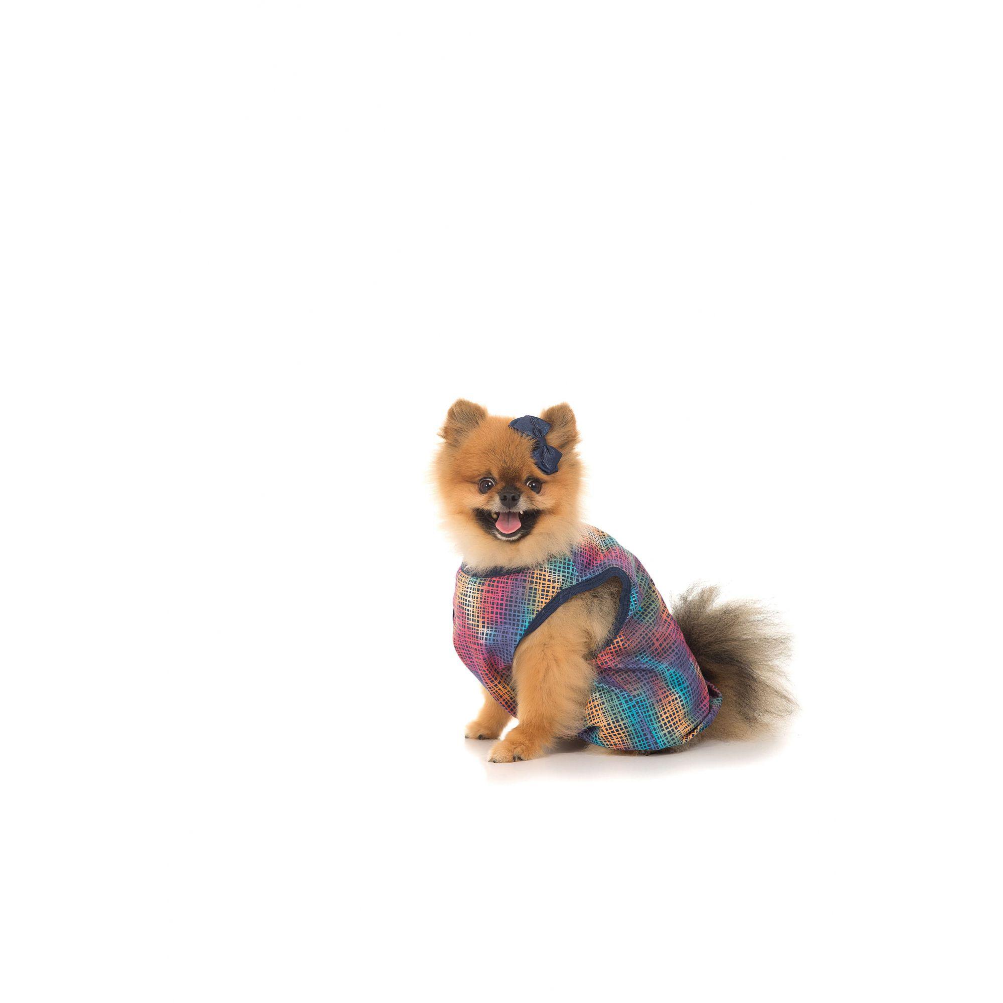 Roupinha Pet Estampa Rotativa