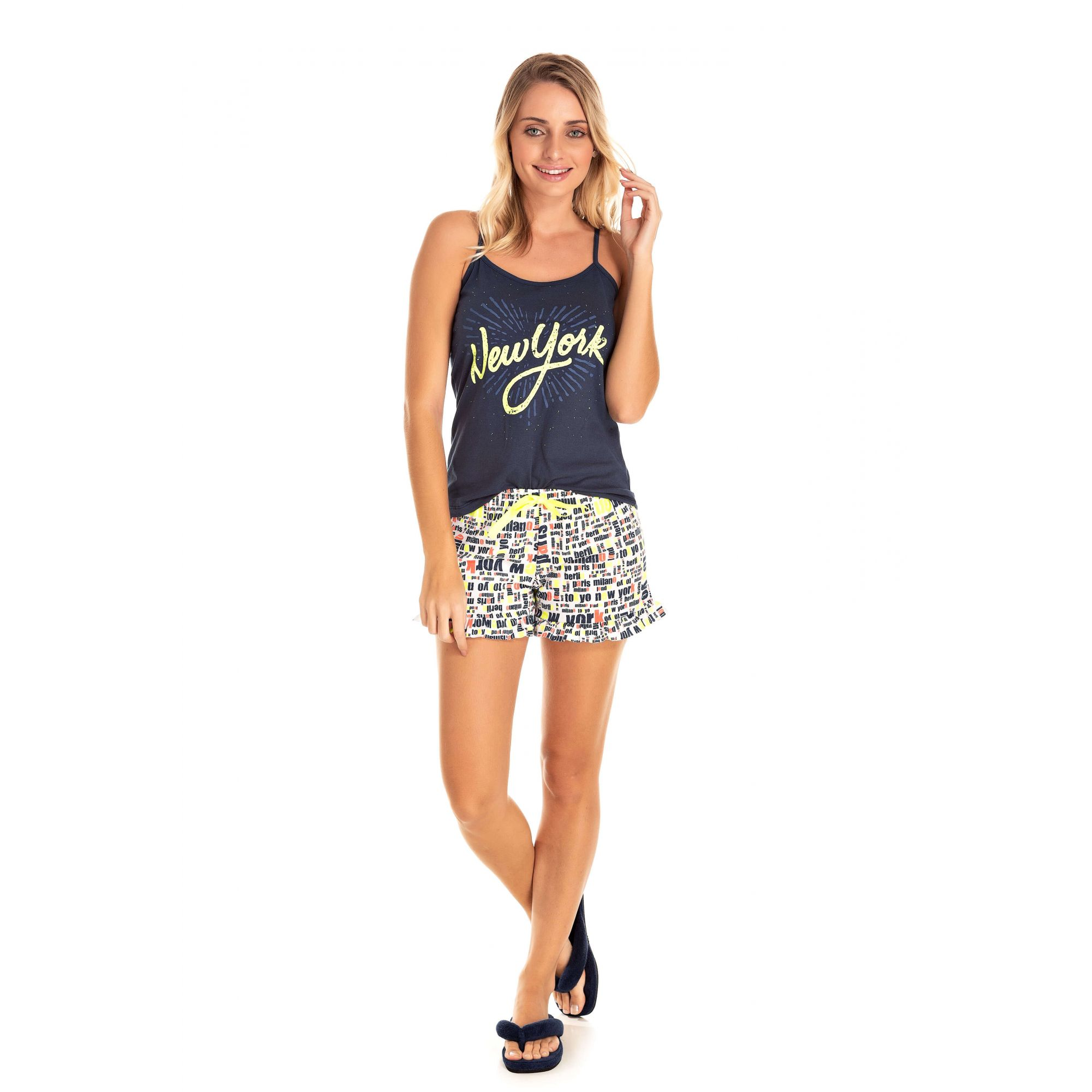 Short Doll Adulto Feminino New York