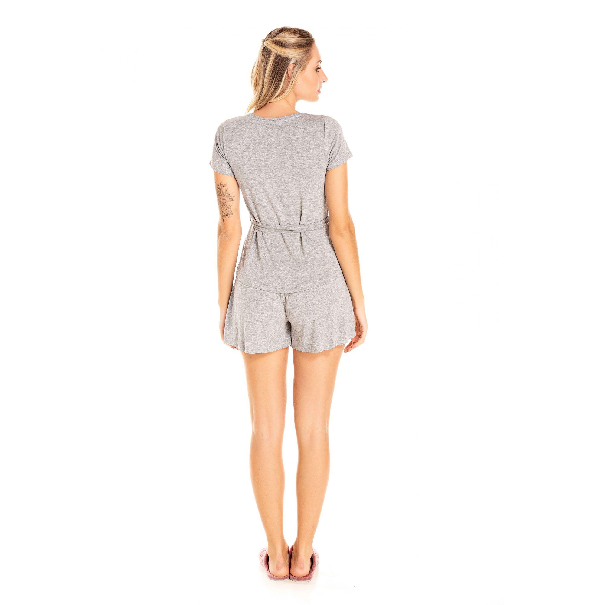 230/E - Short Doll Adulto Feminino Viscolycra