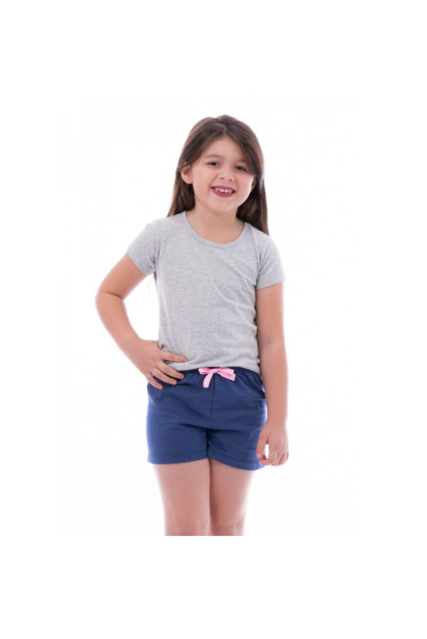109/I - Short Doll Feminino Infantil Família