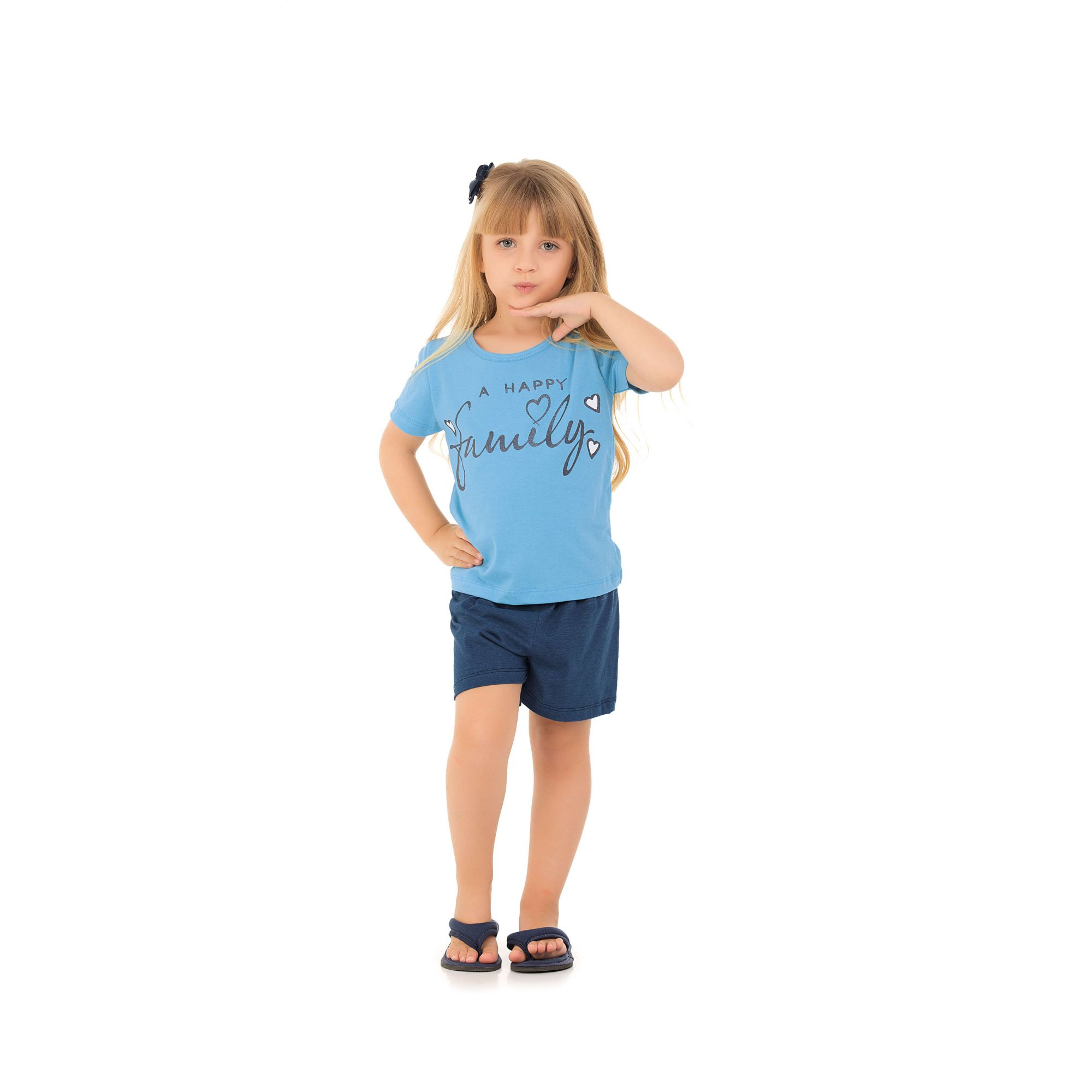 206/J - Short Doll Infantil Family