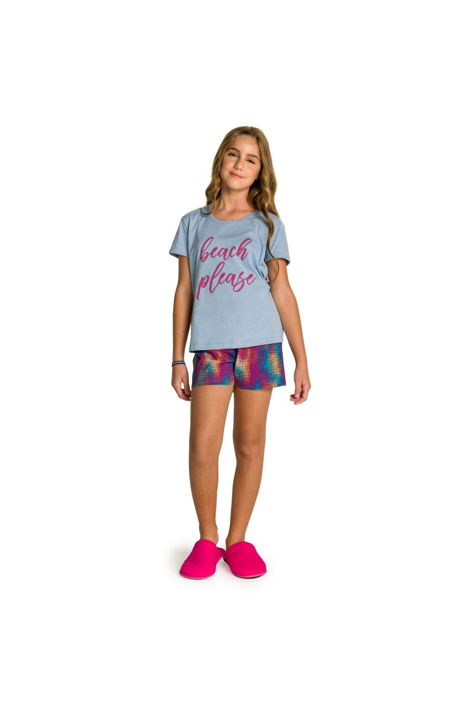 051/G - Short Doll Juvenil Feminino Beach Please