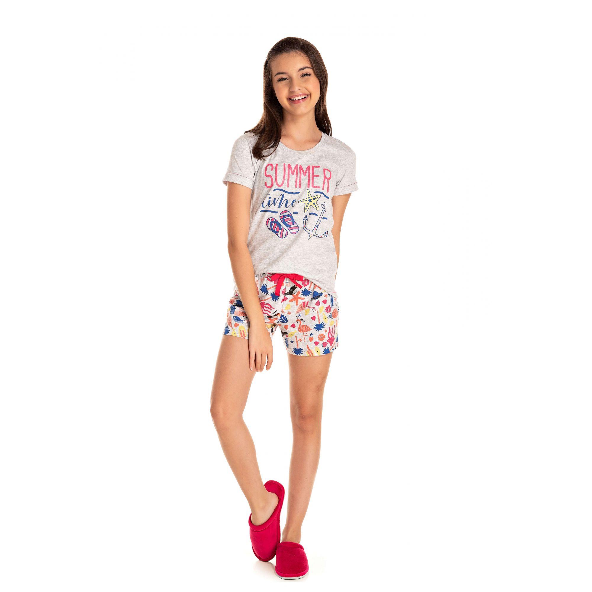 Short Doll Juvenil Feminino Summer