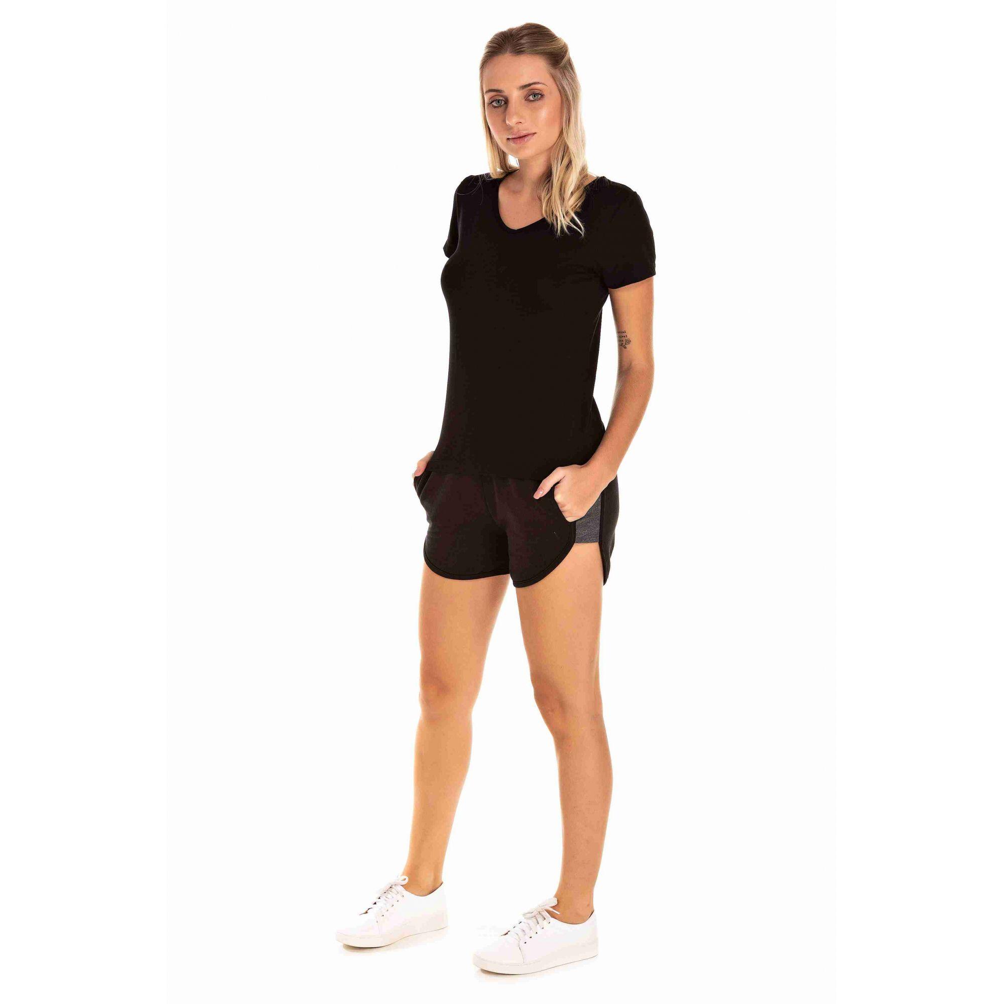 Shorts Feminino Moletom