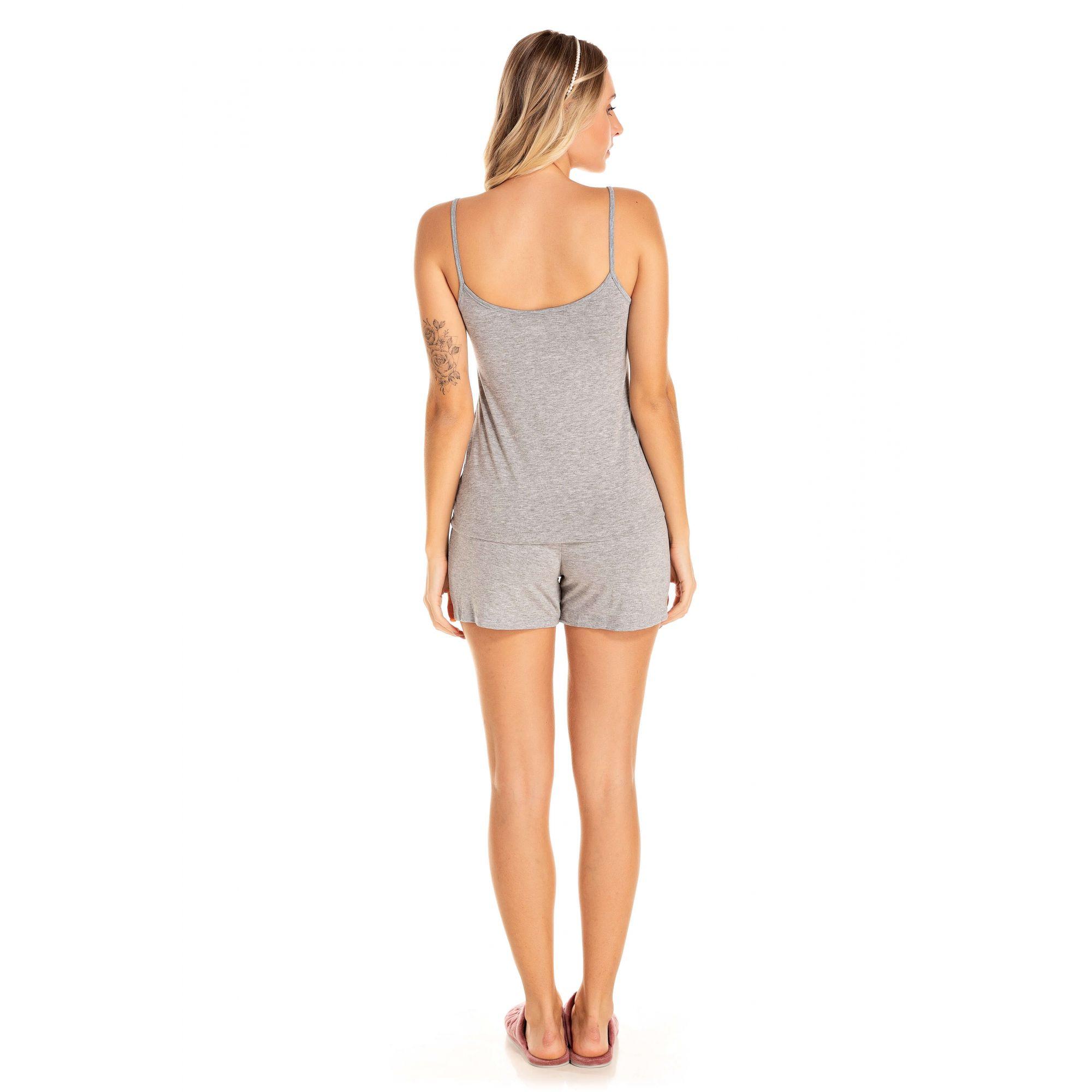 Shorts Feminino Viscolycra - Mescla