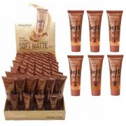 Base Liquida Soft Matte Ruby Rose Grupo 03 Chocolate - Kit c/ 06 unidades