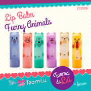 LIP BALM FUNNY ANIMALS LUISANCE