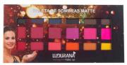 Paleta de Sombras Matte 18 Cores - ludurana