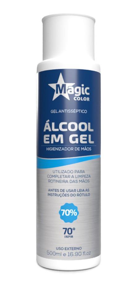 ALCOOL EM GEL - MAGIC COLOR