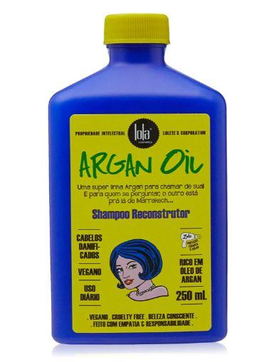 ARGAN OIL SHAMPOO RECONSTRUTOR - LOLA